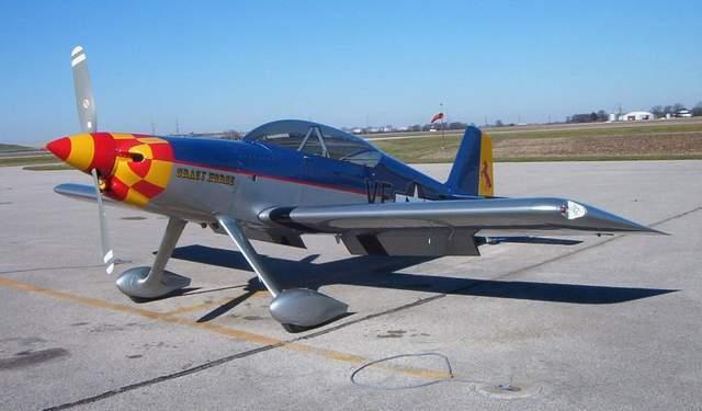 F-1 rocket airplane