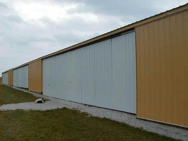 exterior view.jpg (54390 bytes) & hangar doors